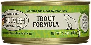 Triumph Trout Formula Cat Food, 5.5 Ounces Per Can, Case Of 24