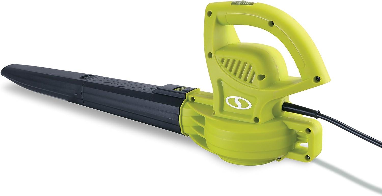 Sun Joe Leaf Blower Electric Hand Held Cleaner Sweeper 215 MPH 240 CFM 10 Amp