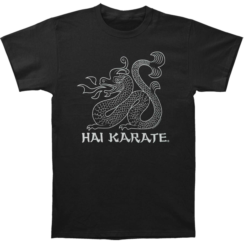 Hai Karate Men's HK Dragon Slim Fit T-shirt Large Black by Hai Karate