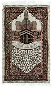Prayer Rug 110x65cm Tassel Tapestry anket Gift Home Carpet Embroidery Decoration Soft Lightweight Islamic Muslim Bedroom Portable Tablecloth