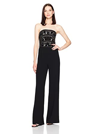 3d6150635632 Amazon.com  Ramy Brook Women s Anny Jumpsuit  Clothing