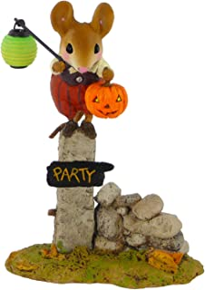 product image for Wee Forest Folk Halloween Pumpkin Party Greeter Collectible