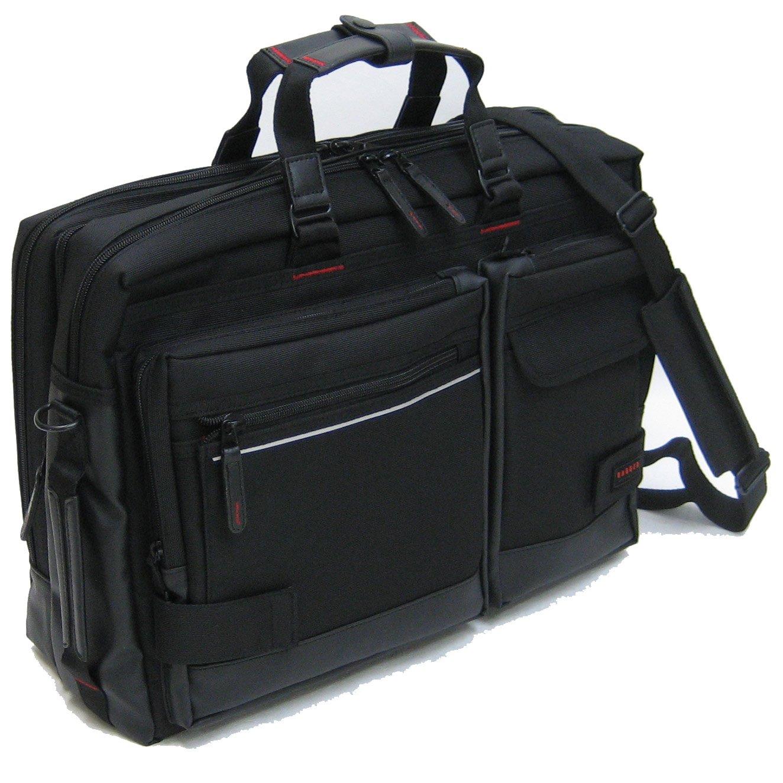 (バジェックス ライトニング) BAGGEX LIGHTNING 23-5516 バジェックス ライトニング ビジネスブリーフケース エキスパンダブル機能付 A3用紙収納可能 45cm B01MSM76VJ