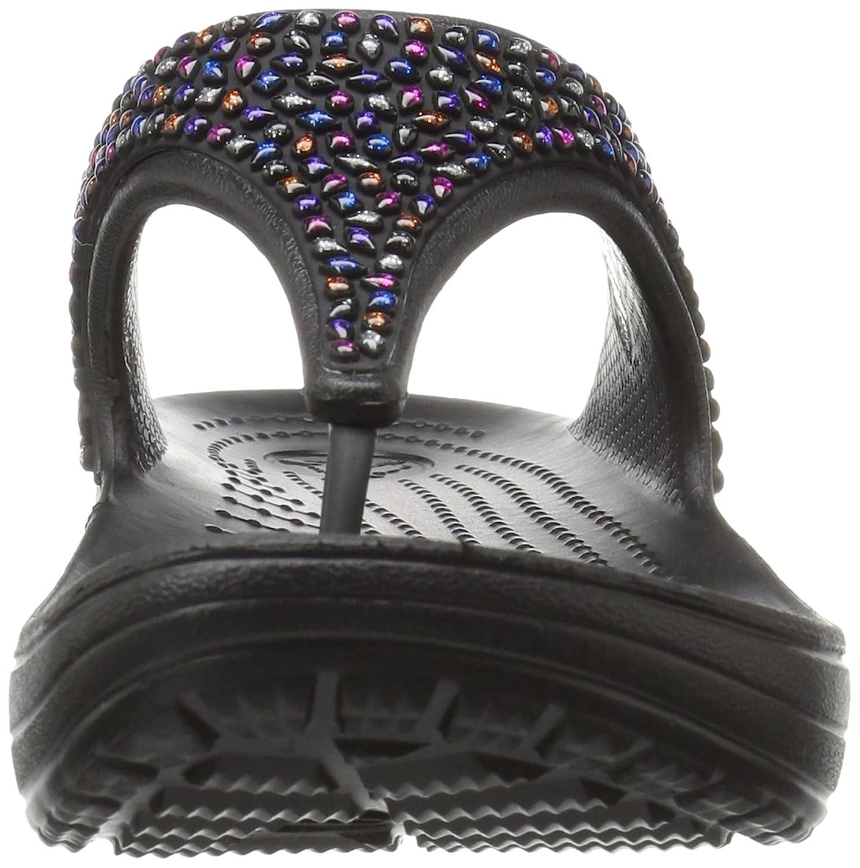 crocs Women's Sloane Embellished Flip Flop: Crocs: Amazon.ca: Shoes &  Handbags
