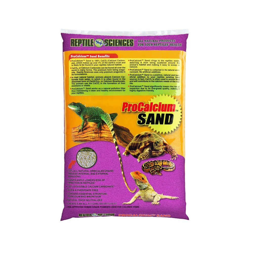 Reptile Sciences Terarium Sand, 10-Pound, Purple by Reptile Sciences B00F8DUD06
