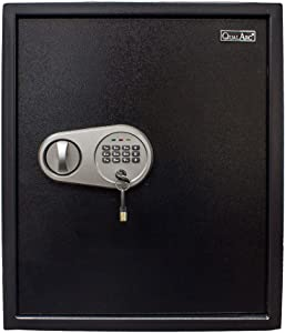 Qualarc NOCH-46EL Electronic Digital Home and Office Security Solid Steel Safe with Keypad Lock 2 Cubic Feet, 2 cu'