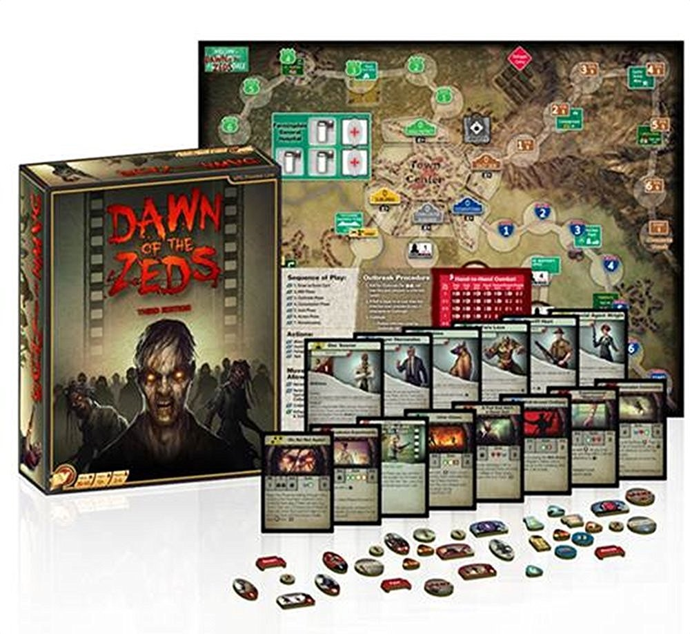 best zombie solo board game