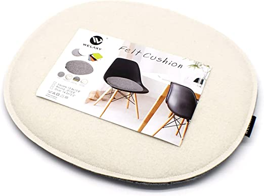 Eames Chair DSW Plastic Chairs Pads