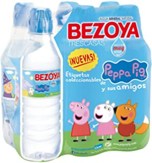Bezoya - Agua Mineral Natural - Pack 6 x 33 cl