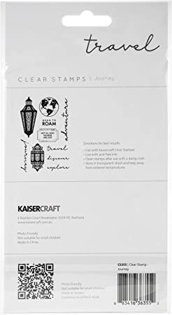 Kaisercraft Enchanted Clear Stamps 6X4
