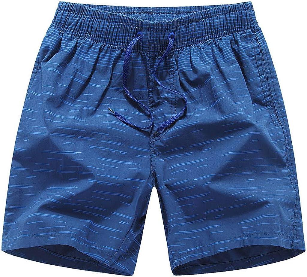 Camouflage Print Plus Size Drawstring Summer Shorts Beach Activewears Holiday Casual Pants MISYAA Mens Swim Trunks