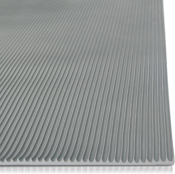 120 x 500 cm Miniripp Gummil/äufer in Grau Gummimatte Schutzmatte Noppenmatte Bodenmatte Noppen Premium gummimatten stall