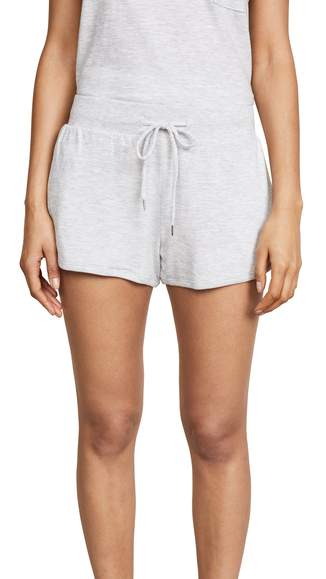 Skin Women's Finley Pajama Shorts, Platinum Grey, 0