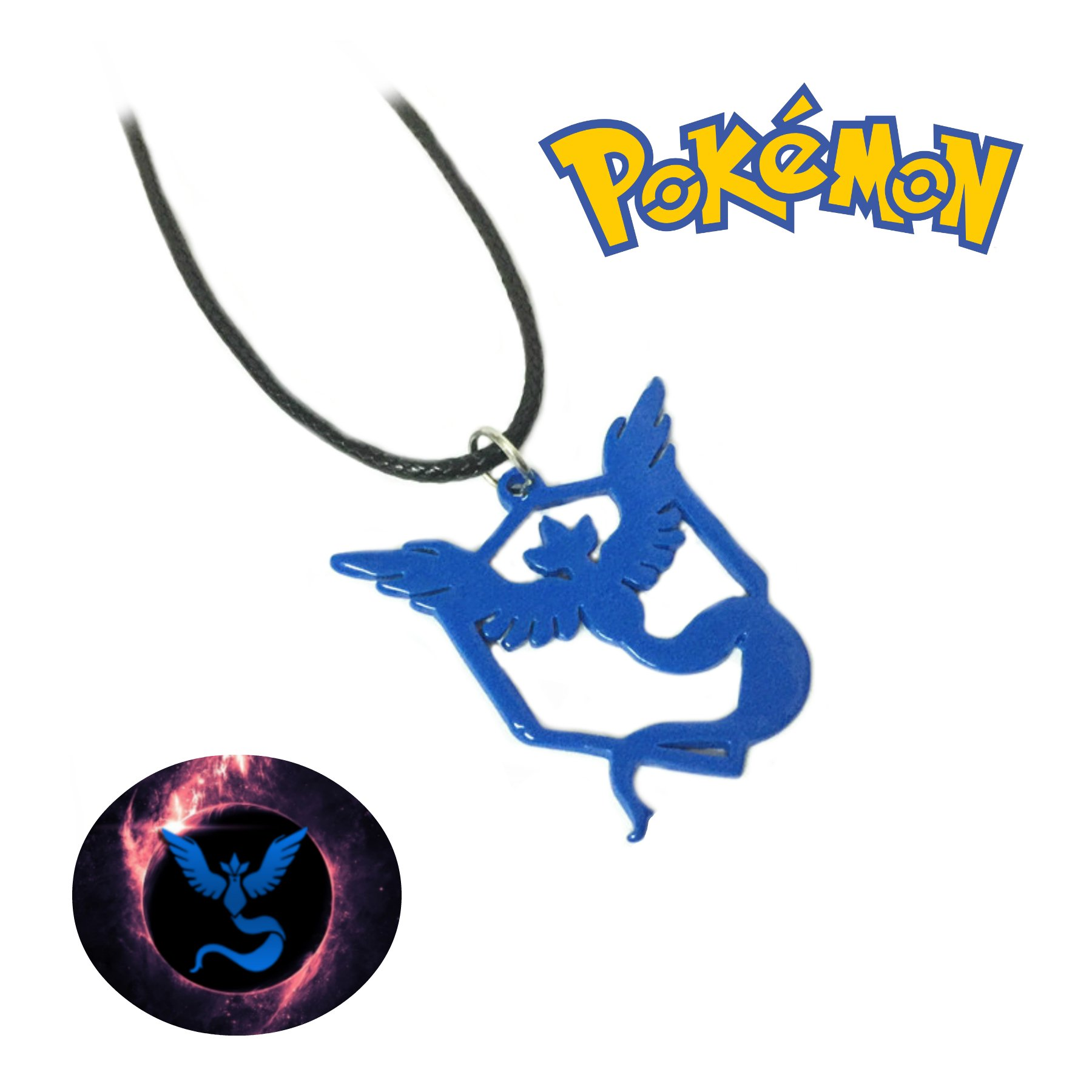Pokemon Go Mystic Necklace Pendant Game Anime Cosplay by Athena Brands by Athena Brand (Image #3)