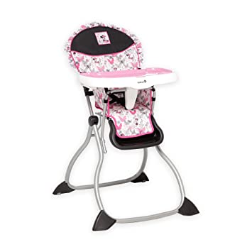 Amazon.com: Disney Minnie Mouse Baby silla alta – Minnie ...