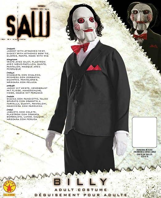 Rubies s – Disfraz de oficial adultos Jigsaw película de terror ...
