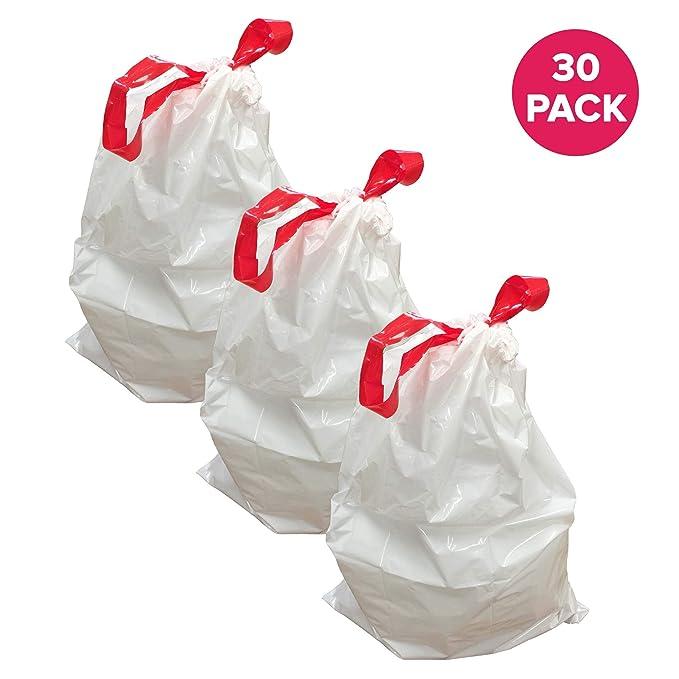 Amazon.com: Think Crucial 30pk Durable bolsas de basura Fit ...