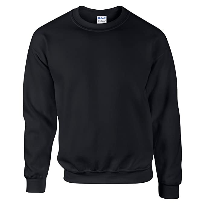 Gildan DryBlend Adult Set-in Crew Neck Sweatshirt (13 Colours) at Amazon Mens Clothing store: Athletic Sweatshirts