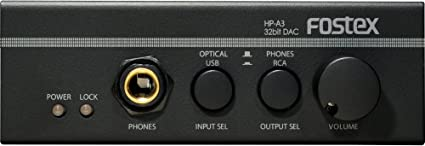 FOSTEX 32bit DAC /& Headphone Amplifier HP-A3 White from Japan NEW with Tracking
