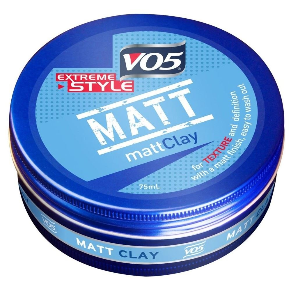VO5 Extreme Style Matte Clay (75ml) - Pack of 6 by VO5