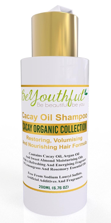 beyouthful cacay aceite Champú - Natural, orgánico, Nutritivo y cuidado del cabello Volumen con cacay, argán y aceites de almendras, y revitalizante ...