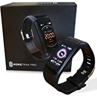 KoreHealth Smart Watch Fitness Tracker - KoreTrak Fitness Tracker Health Watch with Blood Pressure and Heart Rate…