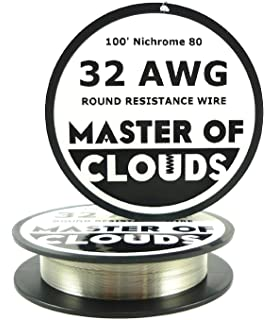 Nichrome 80 - 100 ft 26 Gauge AWG Resistance Wire 0.40mm 26g 100 ...
