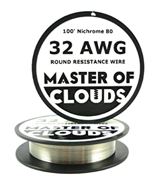 Nichrome 80 100 ft 32 gauge awg resistance wire 020mm 32g 100 nichrome 80 100 ft 32 gauge awg resistance wire 020mm 32g 100 keyboard keysfo Image collections