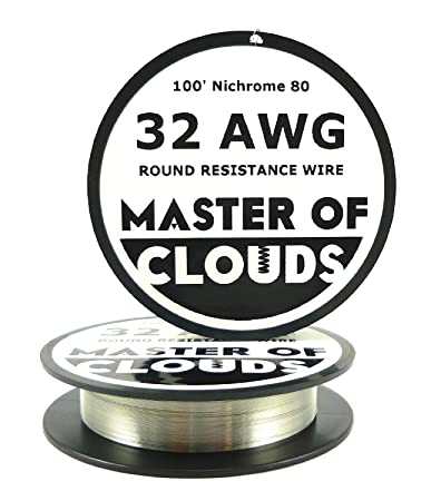 Nichrome 80 - 100 ft 32 Gauge AWG Resistance Wire 0.20mm 32g 100 ...