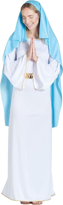 Banyant Toys, S.L. Disfraz DE Virgen Adulta: Amazon.es: Juguetes y ...