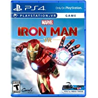 Marvel's Iron Man VR for PS4 (VR Headset Kit and PS Move controllers required) (PS4)
