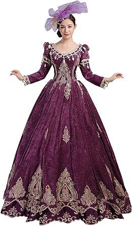 VICTORIENNE LADY Noir//Argent tailleur robe baroque halloween vampire
