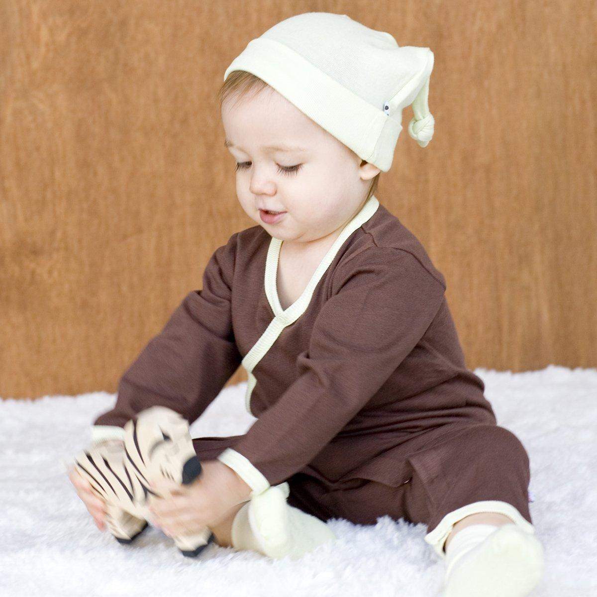 Babysoy Long Sleeve Kimono One Piece Coverall