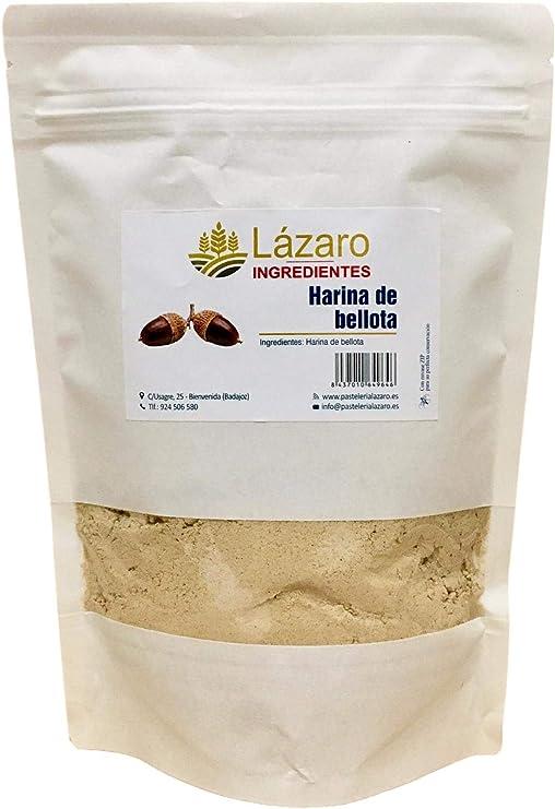 Lázaro Harina De Bellota Extremeña 1 Unidad 200 g: Amazon.es: Alimentación y bebidas