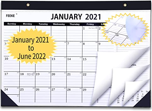 Wake Tech 2021-2022 Calendar Amazon.: 2021 Desk Calendar   18 Months Desk Calendar with to