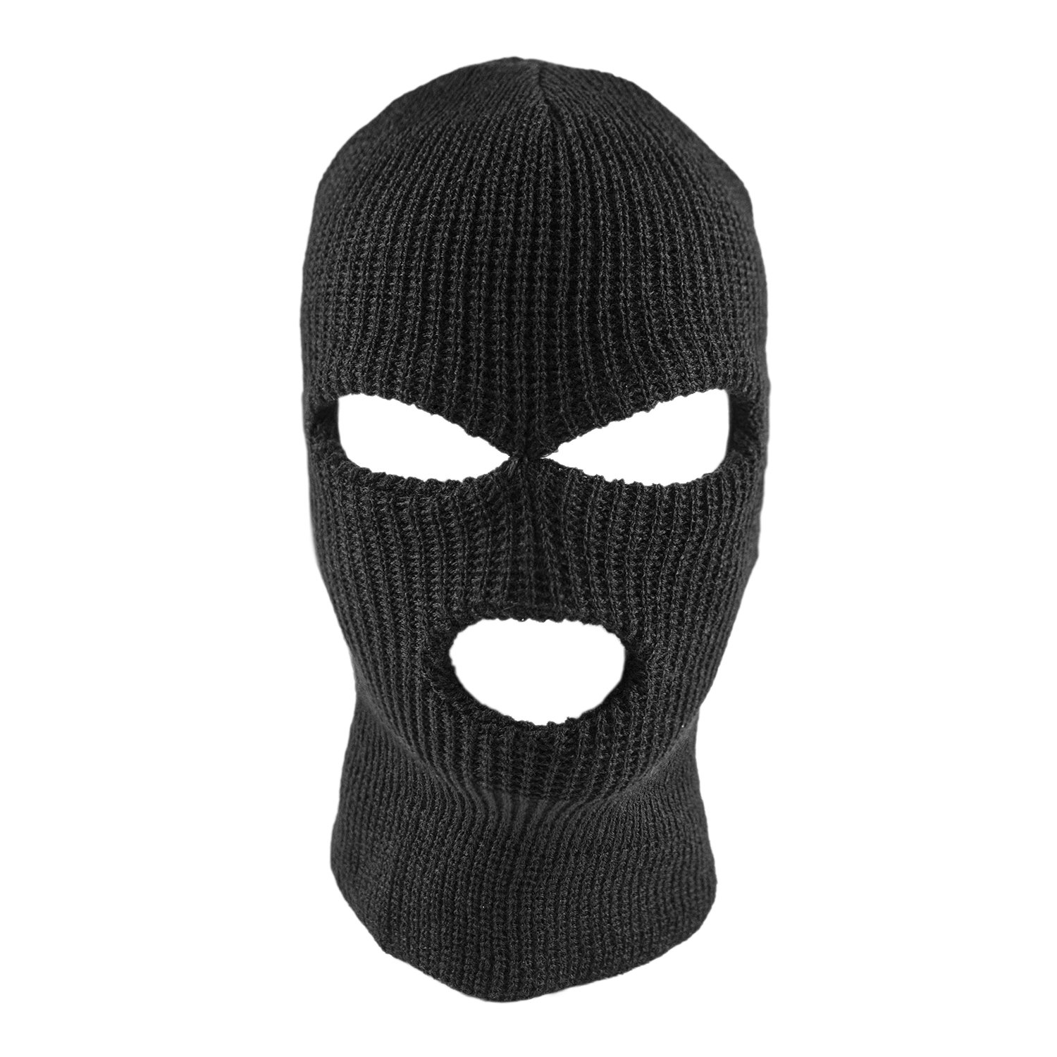 17f0bda7fb2e3 Amazon.com  Knit Sew Acrylic Outdoor Full Face Cover Thermal Ski Mask by  Super Z Outlet