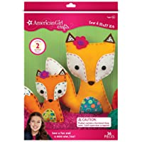 American Girl Crafts Foxes Sew & Stuff Kit