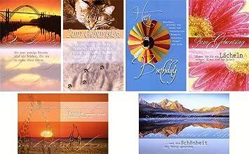 50 Geburtstagskarten Spruche Natur Grusskarten Gluckwunschkarten Zum