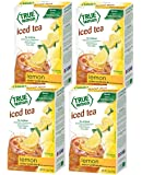 Lemon ICED Tea Mix by True Lemon | Instant Powdered Drink Packets That Quench Your Thirst, Kit Includes 4 Boxes, 24ct of…