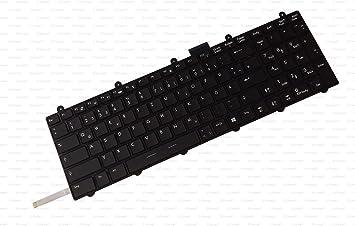 X-Comp Teclado negro con marco y retroiluminación para MSI Apache Pro GE60 GE70 GT60 GT70 GX60 GX70 GT70 GT70 2PC Dominator Serie