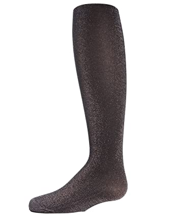 sports shoes 0dd9d 45d4e MeMoi Sparkly Girls Tights   Girls Shimmer Tights Black MK 709 2-4