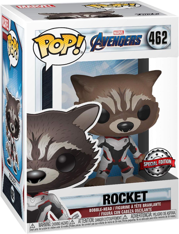 Funko Pop! Avengers Endgame 462 Rocket Raccoon Exclusive: Amazon.es: Juguetes y juegos