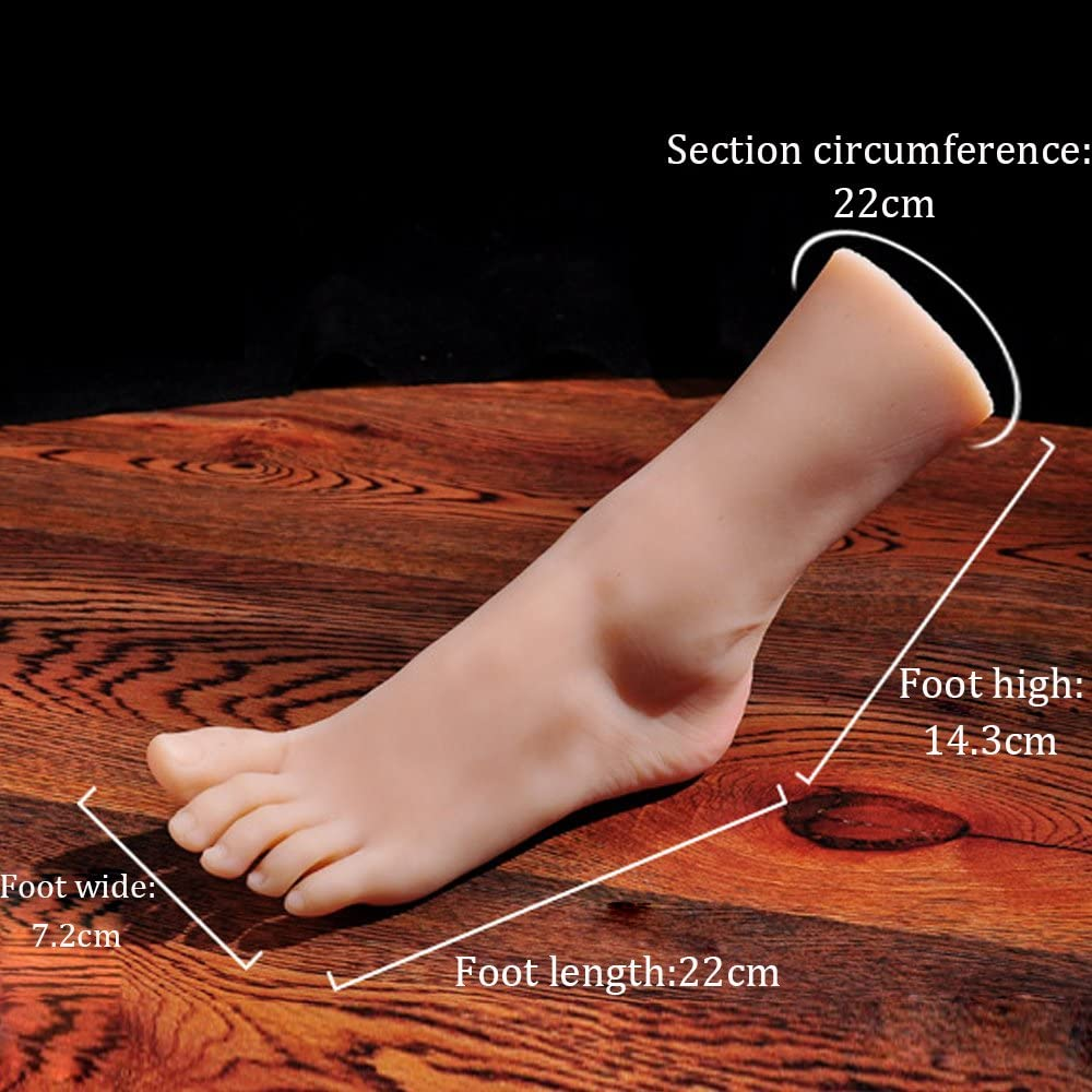 with Nail 1 Pair Silicone Life Size Girl Mannequin Foot Display Jewerly Sandal Shoe Sock Display Art Sketch