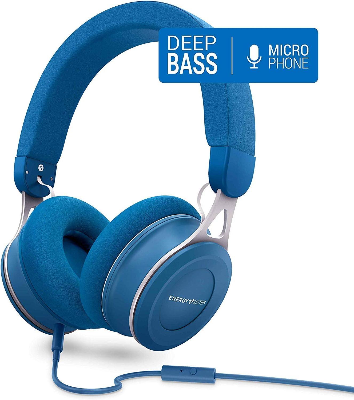 Energy Sistem Headphones Urban 3 Mic Azul: Energy-Sistem: Amazon.es: Electrónica