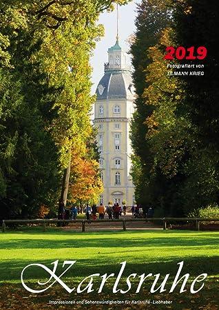 Kalender Karlsruhe 2019 Wandkalender A4 Amazonde Bürobedarf