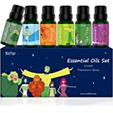 Essential Oils Set, MitFlor Cutie Pure Aromatherapy Therapeutic Essential Oils Kit for Diffuser Humidifier - Lavender…