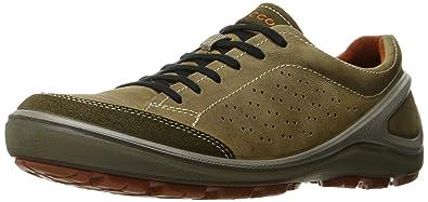 ECCO Men's Biom Grip Fashion Sneakers, Tarmac/Navajo Brown, 40 EU/6