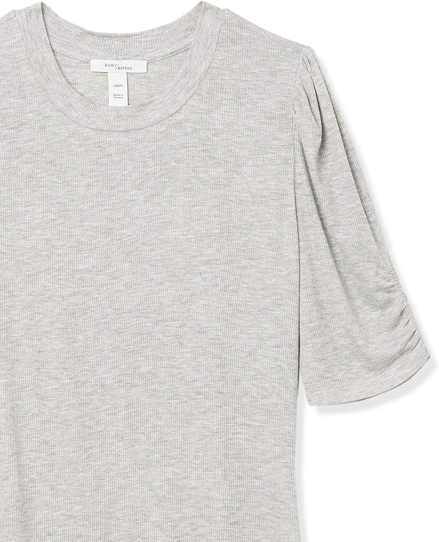 Daily Ritual Marca Camiseta de manga larga para mujer