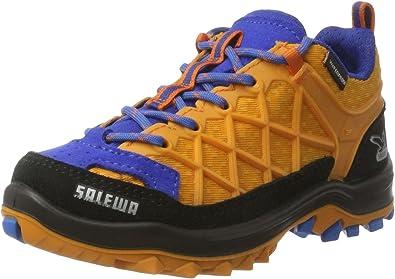 Salewa Jr Wildfire Waterproof, Zapatillas de Senderismo Unisex Niños, Multicolor (Arancio/Davos 8490), 37: Amazon.es: Zapatos y complementos