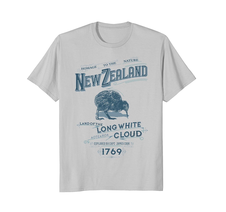 new zealand land of the long white cloud t-shirt men women- TPT